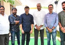 Karthik Raju, Aditya Movie Makers Production No 1 Launch