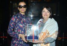 Namratha With Katherine B Hadda