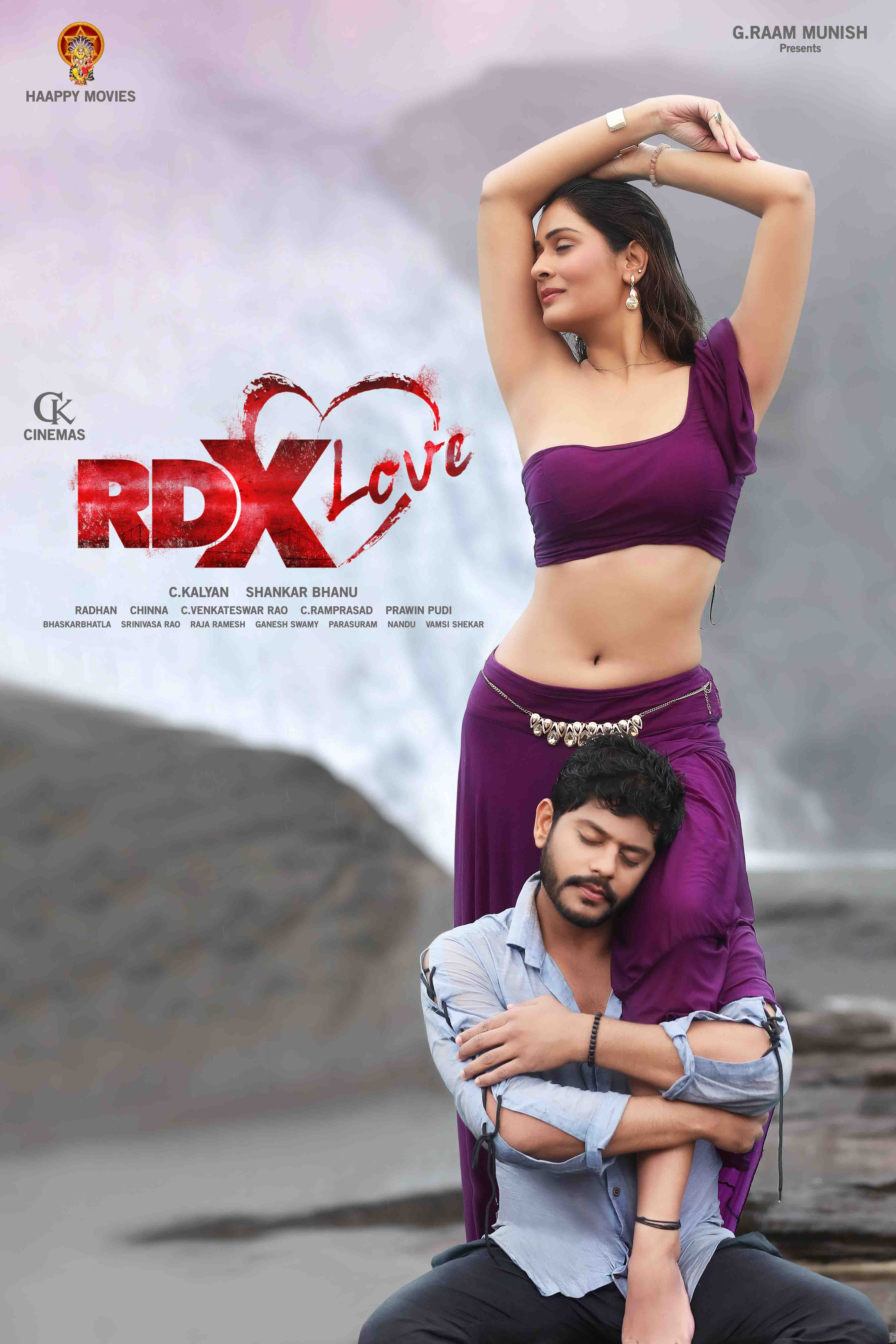 Paayal Rajput's 'RDX Love' First Look Launch by 'Victory' Venkatesh